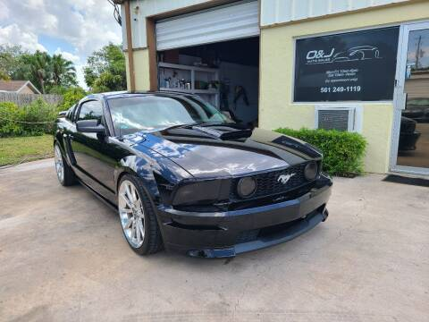 2007 Ford Mustang for sale at O & J Auto Sales in Royal Palm Beach FL