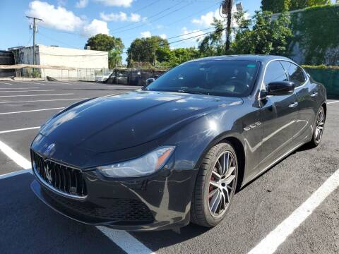 2015 Maserati Ghibli for sale at Eden Cars Inc in Hollywood FL