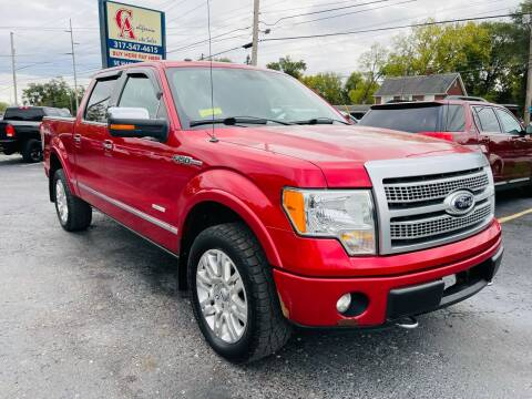2012 Ford F-150 for sale at California Auto Sales in Indianapolis IN