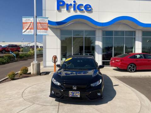 2017 Honda Civic for sale at Price Honda in McMinnville in Mcminnville OR