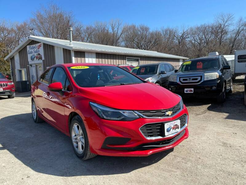 2016 Chevrolet Cruze for sale at Victor's Auto Sales Inc. in Indianola IA