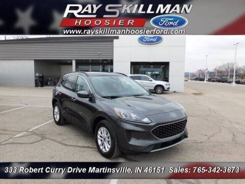2020 Ford Escape for sale at Ray Skillman Hoosier Ford in Martinsville IN