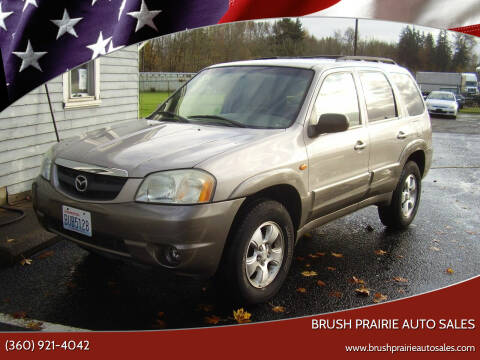 2002 Mazda Tribute for sale at Brush Prairie Auto Sales in Battle Ground WA