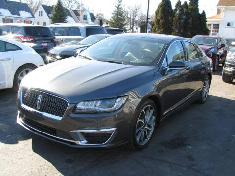 2018 Lincoln MKZ for sale at CLASSIC MOTOR CARS in West Allis WI