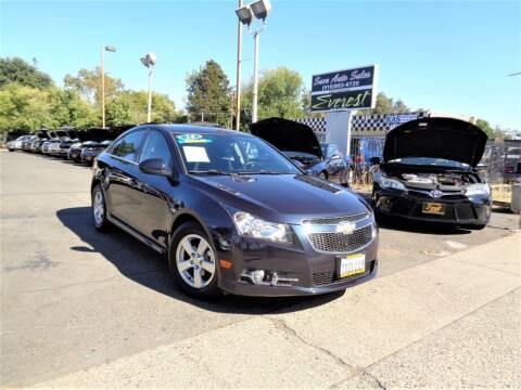 2014 Chevrolet Cruze for sale at Save Auto Sales in Sacramento CA