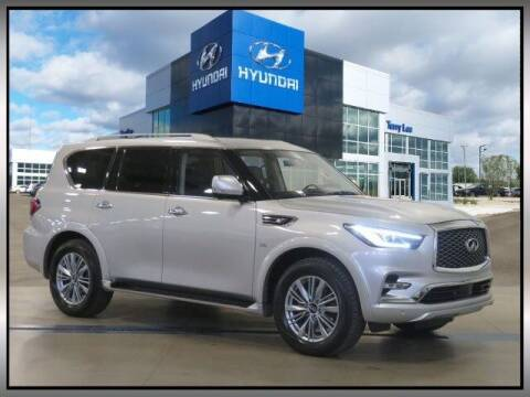 2020 Infiniti QX80 for sale at Terry Lee Hyundai in Noblesville IN