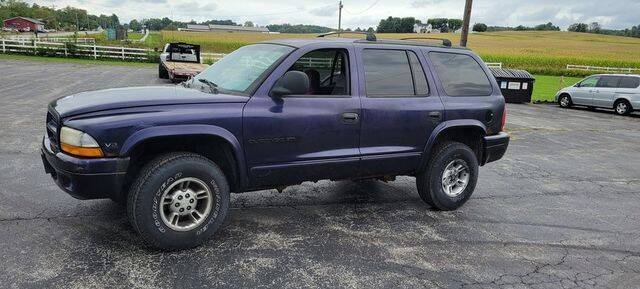 1999 Dodge Durango for sale at Biron Auto Sales LLC in Hillsboro OH