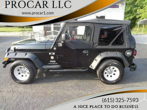 2005 Jeep Wrangler for sale at PROCAR LLC in Portland TN