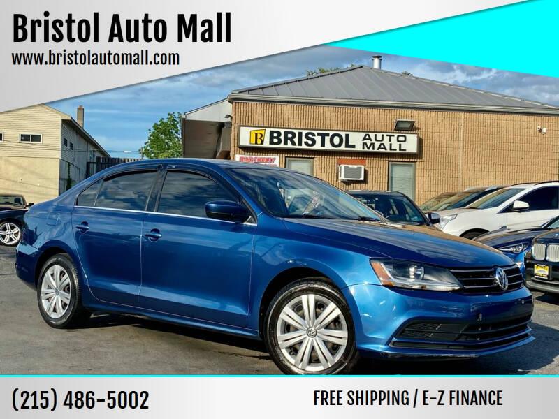2017 Volkswagen Jetta for sale at Bristol Auto Mall in Levittown PA