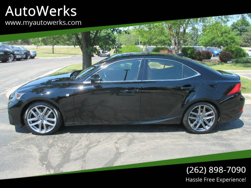 2017 Lexus IS 300 for sale at AutoWerks in Sturtevant WI