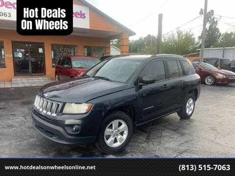2014 Jeep Compass for sale at Hot Deals On Wheels in Tampa FL