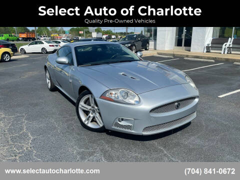 2007 Jaguar XK-Series for sale at Select Auto of Charlotte in Matthews NC