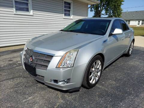 2009 Cadillac CTS for sale at CALDERONE CAR & TRUCK in Whiteland IN