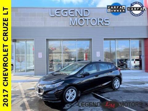 2017 Chevrolet Cruze for sale at Legend Motors of Detroit - Legend Motors of Waterford in Waterford MI
