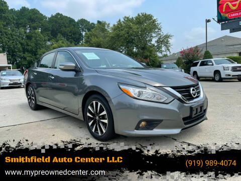 2018 Nissan Altima for sale at Smithfield Auto Center LLC in Smithfield NC