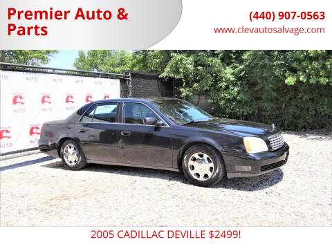 2005 Cadillac DeVille for sale at Premier Auto & Parts in Elyria OH