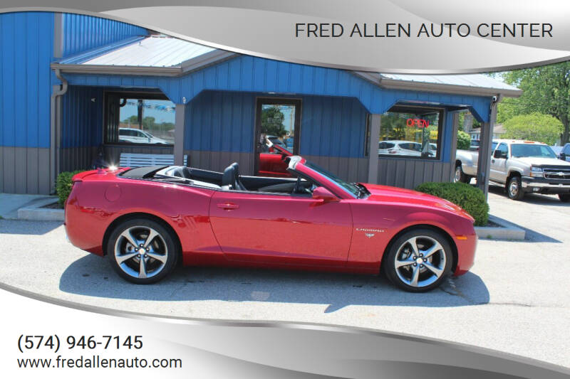 2013 Chevrolet Camaro for sale at Fred Allen Auto Center in Winamac IN