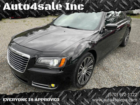 2012 Chrysler 300 for sale at Auto4sale Inc in Mount Pocono PA