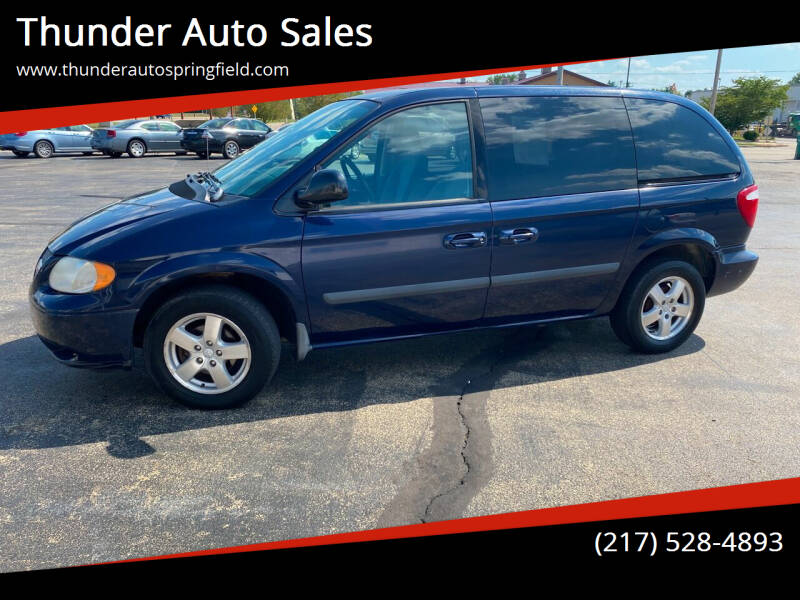 2005 Dodge Caravan for sale at Thunder Auto Sales in Springfield IL