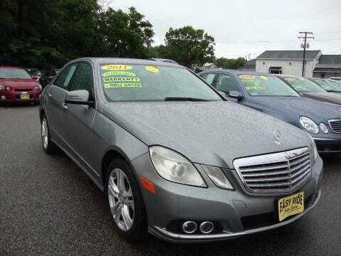 2011 Mercedes-Benz E-Class for sale at Easy Ride Auto Sales Inc in Chester VA