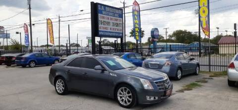 2008 Cadillac CTS for sale at S.A. BROADWAY MOTORS INC in San Antonio TX