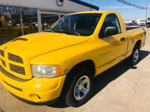 2004 Dodge Ram Pickup 1500 for sale at Pioneer Auto in Ponca City OK