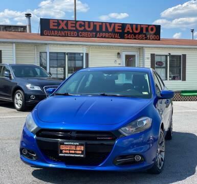 2013 Dodge Dart for sale at Executive Auto in Winchester VA