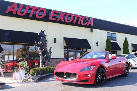 2012 Maserati GranTurismo for sale at Auto Exotica in Red Bank NJ