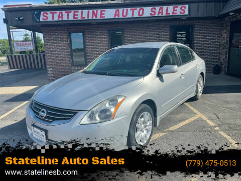 2010 Nissan Altima for sale at Stateline Auto Sales in South Beloit IL