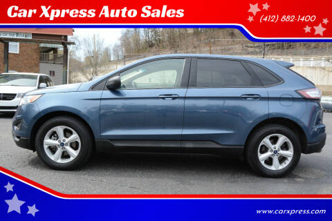 2018 Ford Edge for sale at Car Xpress Auto Sales in Pittsburgh PA