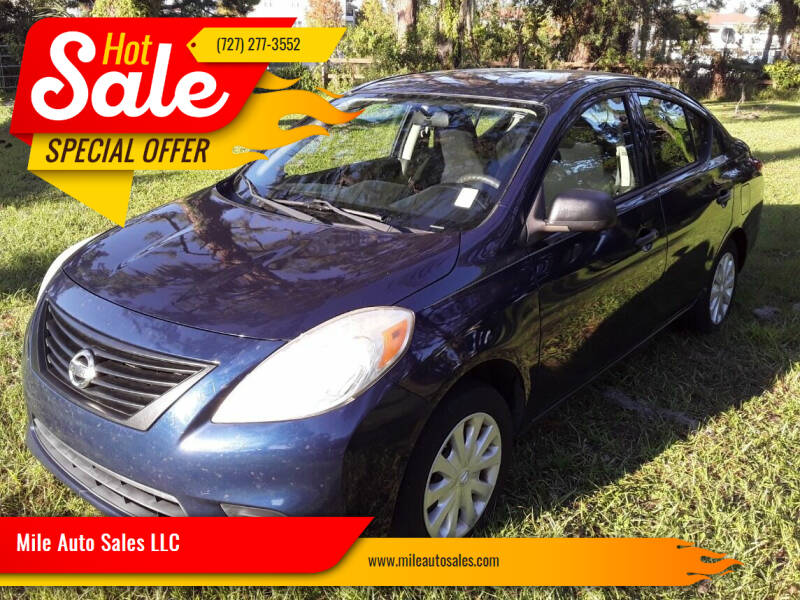 2013 Nissan Versa for sale at Mile Auto Sales LLC in Holiday FL