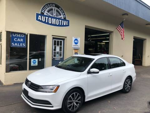 2017 Volkswagen Jetta for sale at HUDSON ROAD AUTOMOTIVE in Stow MA