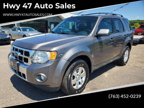 2011 Ford Escape for sale at Hwy 47 Auto Sales in Saint Francis MN