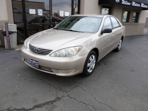 2005 Toyota Camry for sale at Wilson-Maturo Motors in New Haven Ct CT