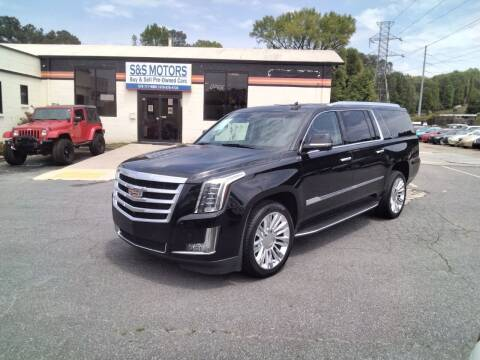 2015 Cadillac Escalade ESV for sale at S & S Motors in Marietta GA