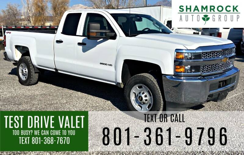 2012 Chevrolet Silverado 3500HD for sale at Shamrock Group LLC #1 in Pleasant Grove UT