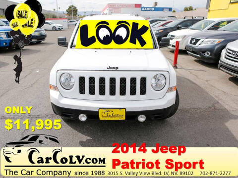 2014 Jeep Patriot for sale at The Car Company in Las Vegas NV