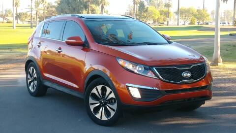 2011 Kia Sportage for sale at CAR MIX MOTOR CO. in Phoenix AZ
