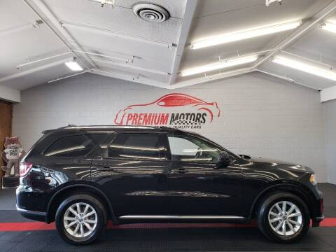 2014 Dodge Durango for sale at Premium Motors in Villa Park IL