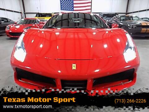 2018 Ferrari 488 GTB for sale at Texas Motor Sport in Houston TX