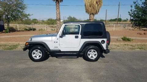 2006 Jeep Wrangler for sale at Ryan Richardson Motor Company in Alamogordo NM