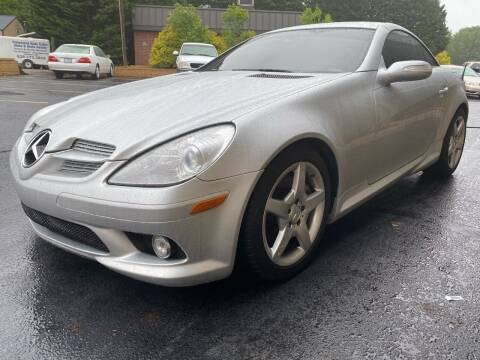 2008 Mercedes-Benz SLK for sale at Viewmont Auto Sales in Hickory NC