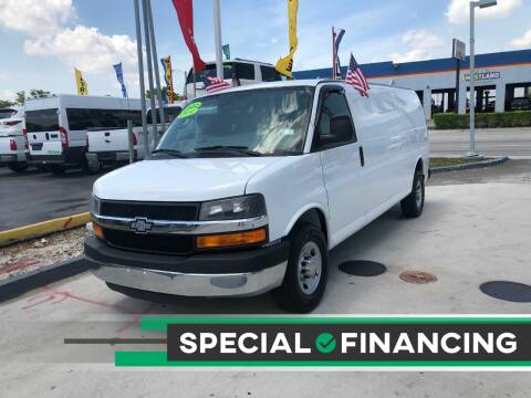 2014 Chevrolet Express Cargo for sale at Navarro Auto Motors in Hialeah FL