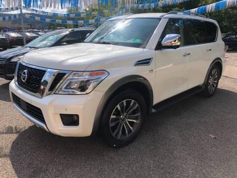 2018 Nissan Armada for sale at Matt Jones Preowned Auto in Wheeling WV