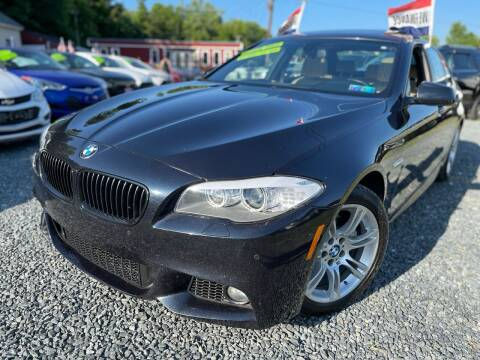 2013 BMW 5 Series for sale at A&M Auto Sales in Edgewood MD
