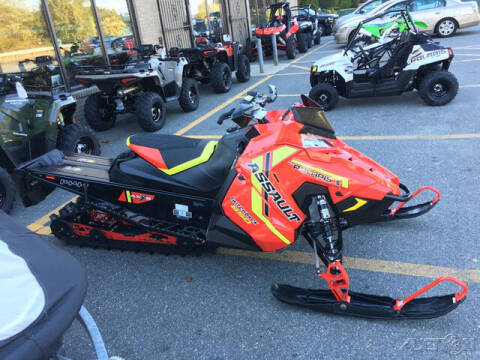 2021 Polaris 850 ASSAULT 144 SWITCHBACK ES  for sale at ROUTE 3A MOTORS INC in North Chelmsford MA