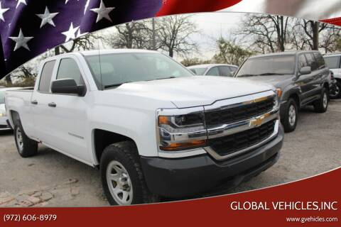 2017 Chevrolet Silverado 1500 for sale at Global Vehicles,Inc in Irving TX