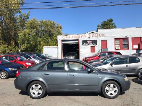 2004 Audi A4 for sale at Dan's Auto Sales and Repair LLC in East Hartford CT