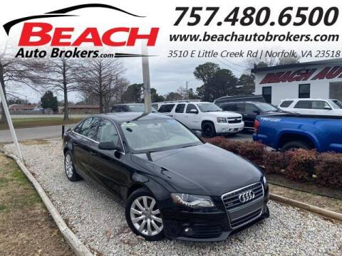 2011 Audi A4 for sale at Beach Auto Brokers in Norfolk VA