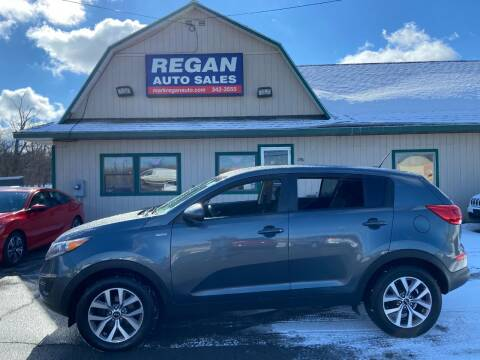2014 Kia Sportage for sale at Mark Regan Auto Sales in Oswego NY
